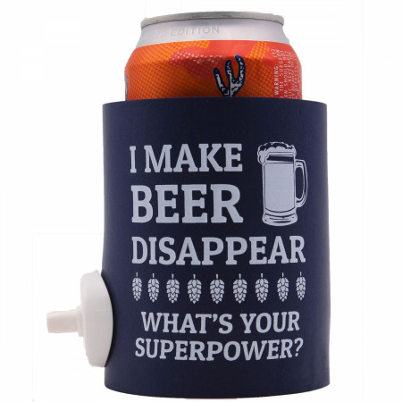 Party Starter Can Cooler with Beer Shotgun